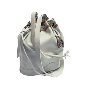 Longchamp – Secchiello Pelle Au Sultan Bianco