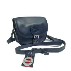Longchamp – Borsa Tracolla Pelle Au Sultan Blue Navy