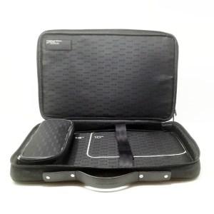 Porsche Design – Laptop Bag Doppia Tasca Tessuto Nero