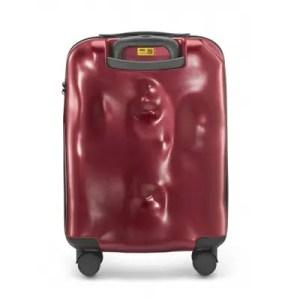 Crash Baggage – Trolley Icon Policarbonato 4W Metal Red