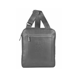 Longchamp – Borsa Bisaccia C/Tracolla Cavalier Grigio