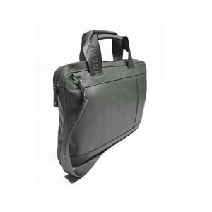 Longchamp – Porta Documenti Pelle C/Tracolla Cavalier Grigio