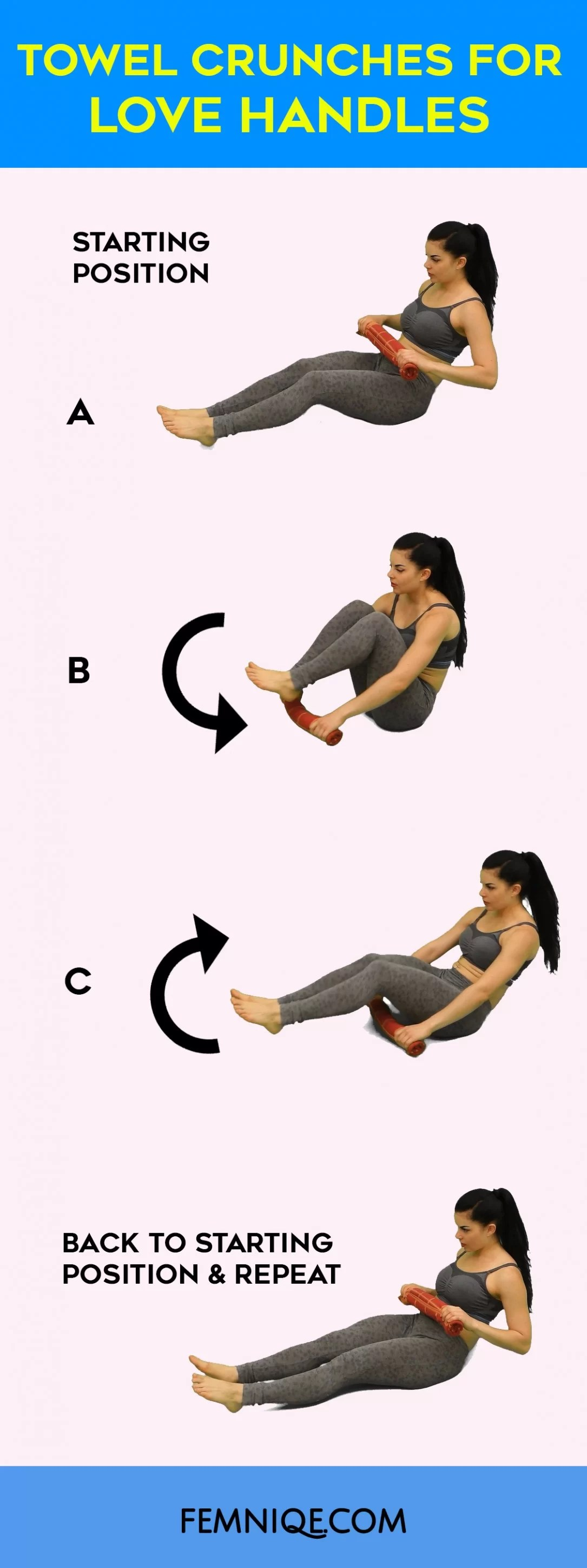 insanely good exercises to get rid of love handles femniqe