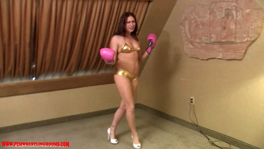 Boxing Shauna Ryanne  Fem Wrestling Rooms