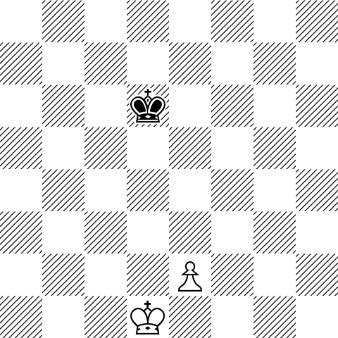 Is this a draw or a win for white? If the black king doesn