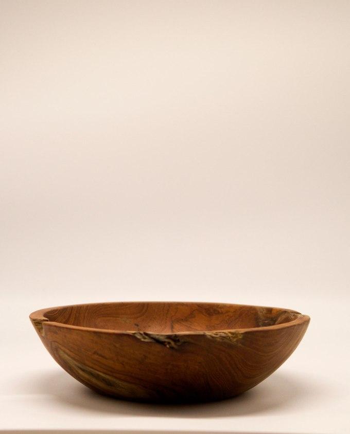 Μπωλ ξύλο Τικ διαμέτρου 40 cm