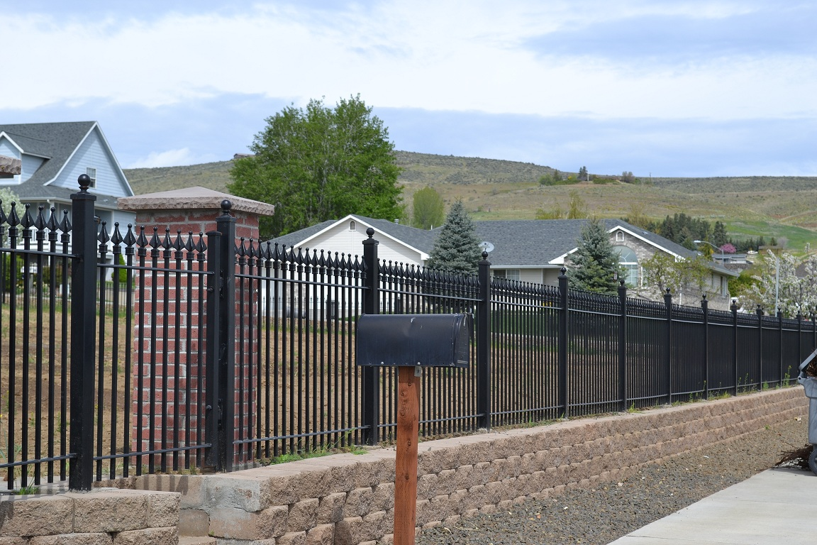 Wrought Iron Fence  Fence Depot