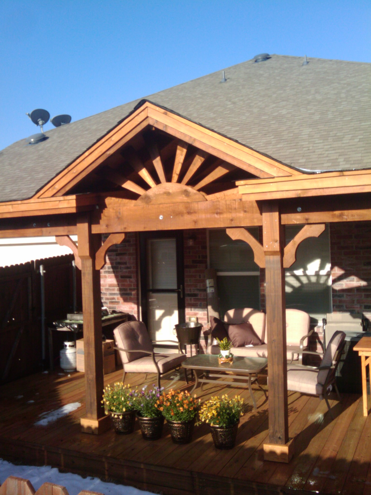 patio covers the solution fences
