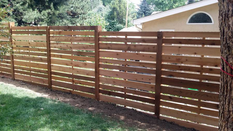 gallery of wood fences