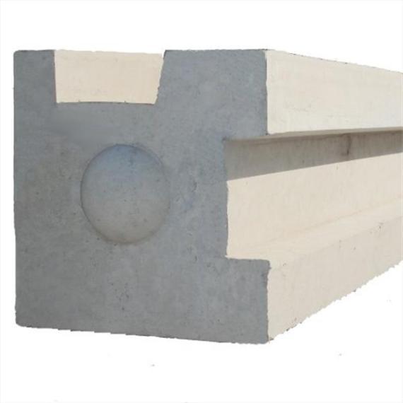 """Concrete Corner Post - 6'9"""""""