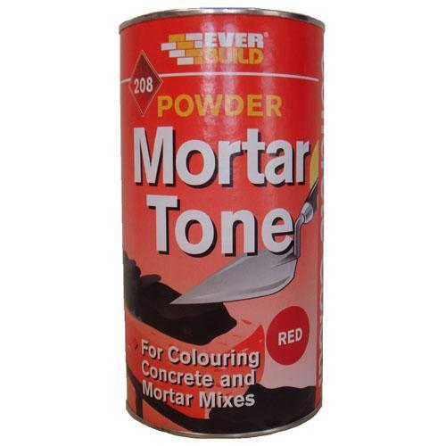 Everbuild Mortar Tone Powdered Red - 1kg