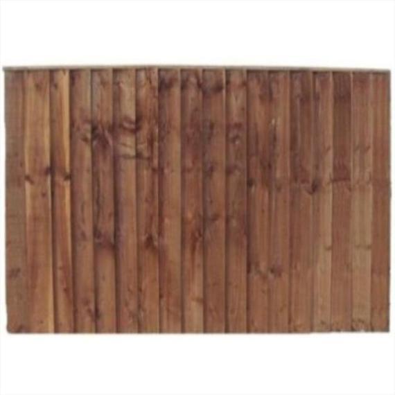 Feather Edge Fence Panel - 6'x5'