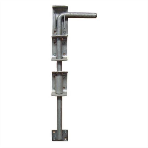 Garage Door Drop Bolt Galvanised - 380mm