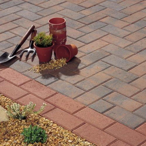 Plaspave 50 Block Paving - Rustic Gold