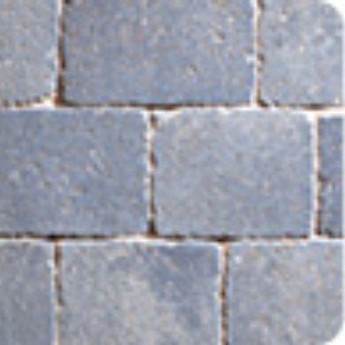Plaspave Sorrento Tumbled Setts - Granite