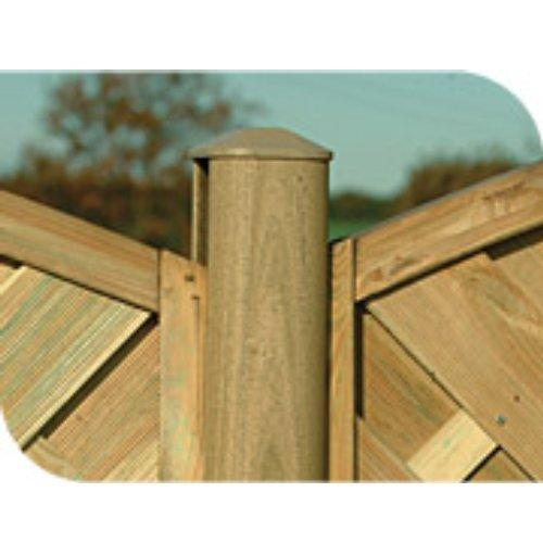 Plastic Post 2.4m (8') - Brown
