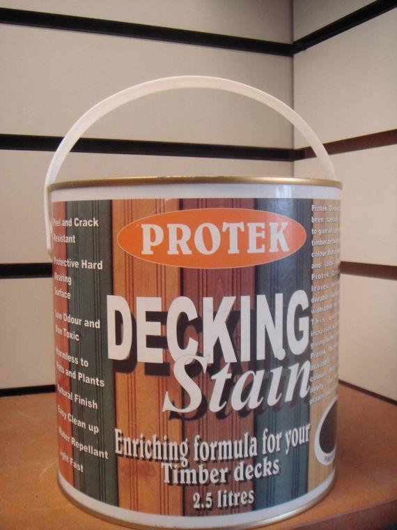 Protek Decking Stain- Forest Green 2.5 lt
