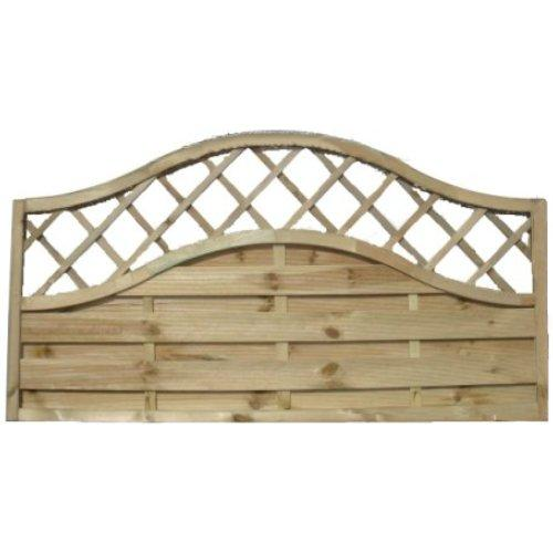 Sussex Wave Fence Panel - 6'x3'