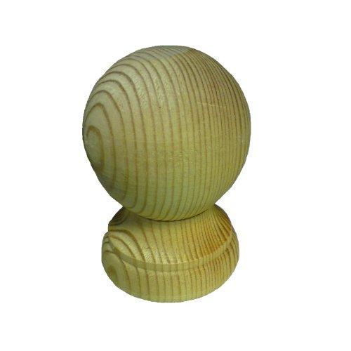 Timber Ball Finial - 3''