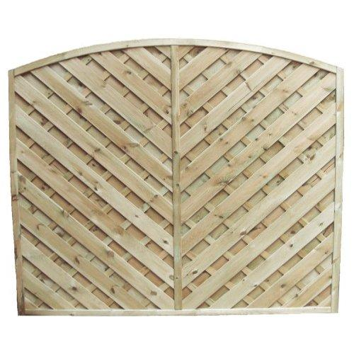 York Arch Fence Panel - 6'x6'