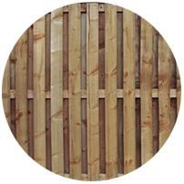 Hit & Miss Fence Panels