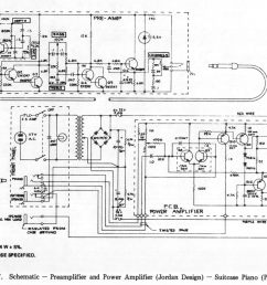 11 17 schematic preamplifier and power amplifier jordan design suitcase piano pre 1969  [ 1848 x 1264 Pixel ]