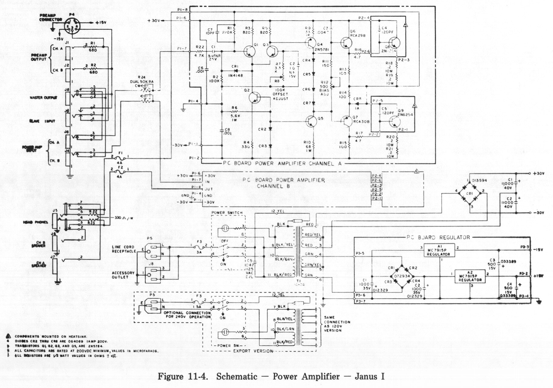 Wrg Schematic Power Amplifier