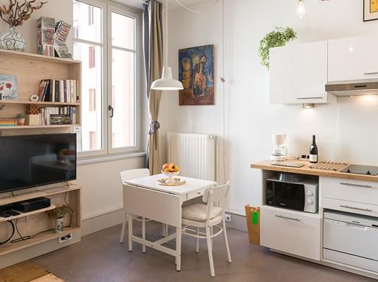 cuisine2-appartement-lyon-gite