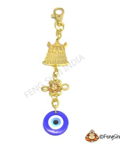 Victory Banner,Evil Eye and Mystic Knot Talisman