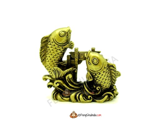 Feng Shui Carps jumping over the Dragon Gate