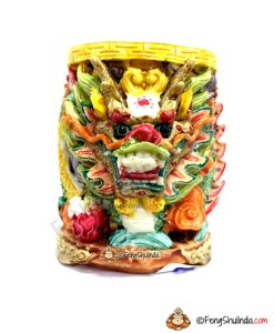 Feng Shui Dragon Pen Holder