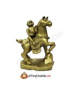 Monkey on Horse