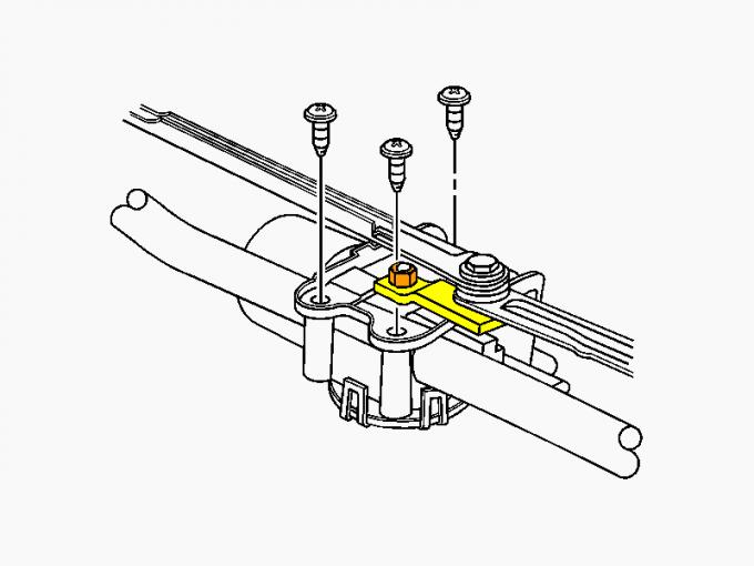 1U1955603C Fits VW Skoda Windshield Wiper Linkage From