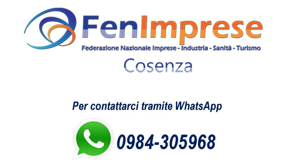 Comunicazioni/Convocazioni - FenImprese COSENZA