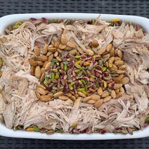 Riz au poulet, plat pour 4 personnes