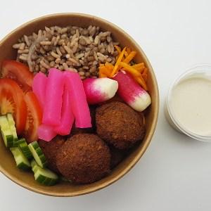 Pokebowl avec falafel