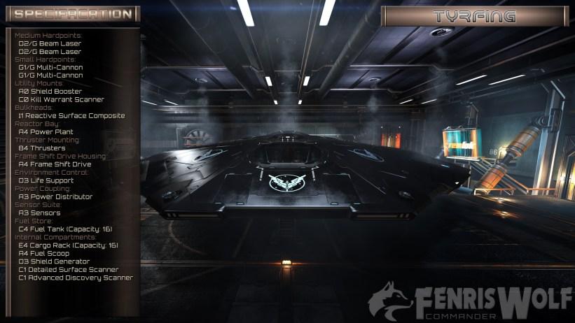 Cobra MkIII - Tyrfing