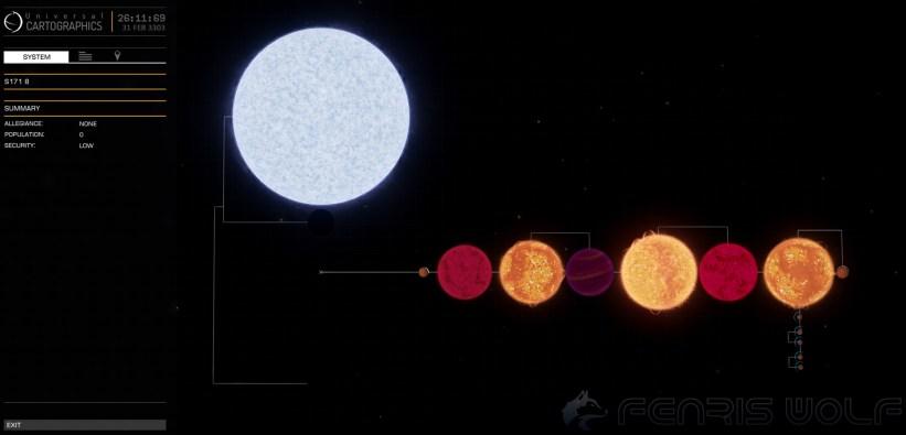 S171 8 - Black Hole = 2