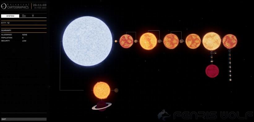 S171 12 - Black Hole = 1