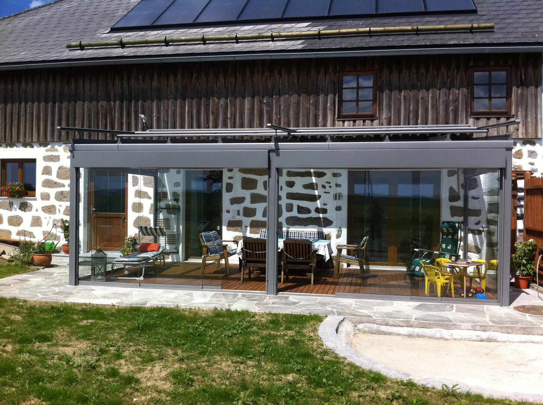 Terrassenüberdachung Alu Mit Beschattung Preis - Fenster Schmidinger