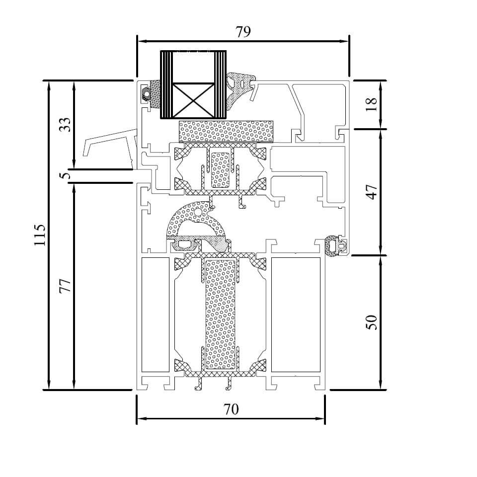 Aluminiumfenster Mb-70 Hi Online Kaufen - Fensterblick.De