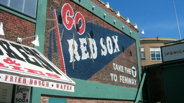 "Go Red Sox, Take The ""T"" To Fenway"