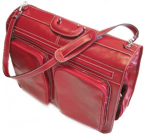 42659d0d68c8 Traveling With an Italian Leather Bag