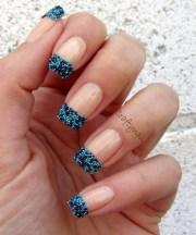 pretty french nails design