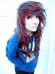 supremely cute emo hairstyles