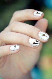 pretty spring nails design