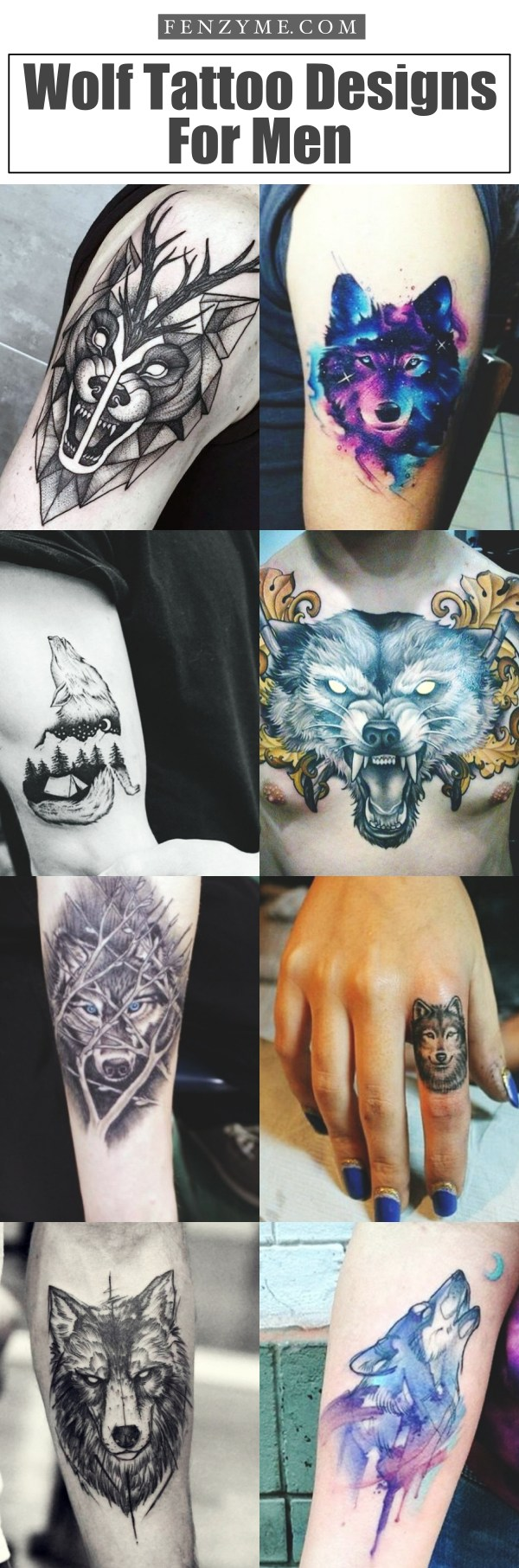 Alpha Wolf Lone Wolf Wolf Tattoo Meaning