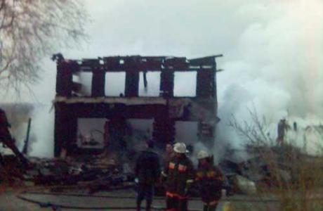 Три года после пожара