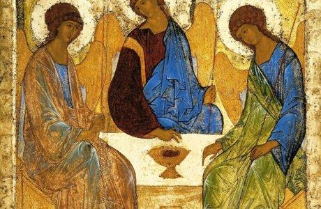 Святая Троица и преподобный Сергий
