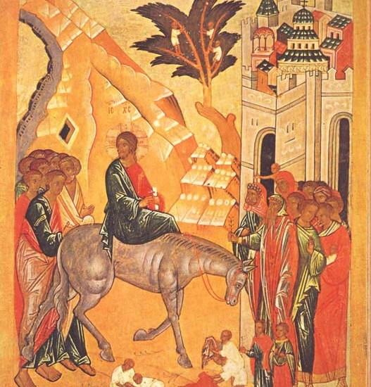 Слово святителя Игнатия в неделю Цветоносную